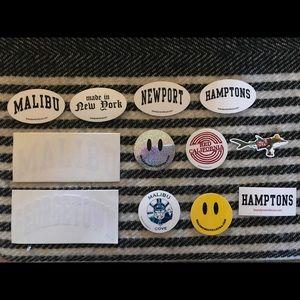 Brandy Melville sticker bundles